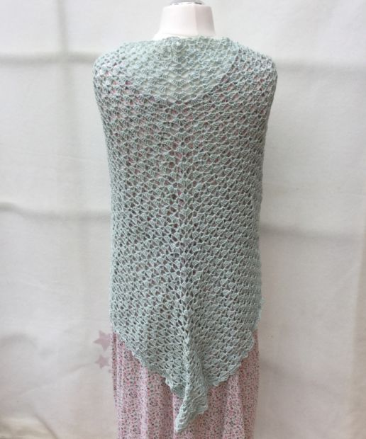Shawl in Mint
