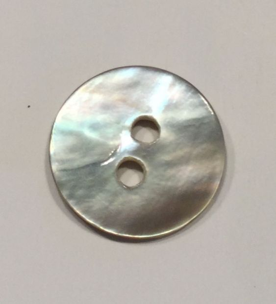 Set of 8 buttons in mother-of-pearl look