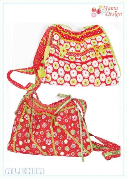 E-Pattern ALEXIA Bag Ladies and Girls