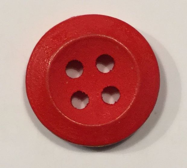 wooden button simple small