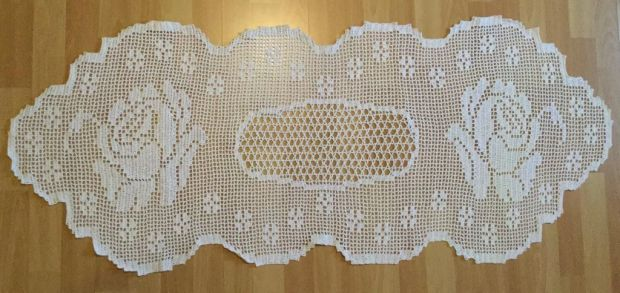 crochet cover large