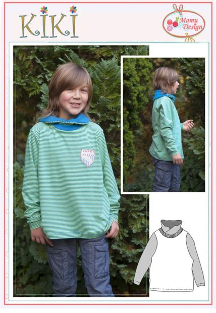 KIKI E-Pattern Sweatshirt Shirt Baby Boy Girl