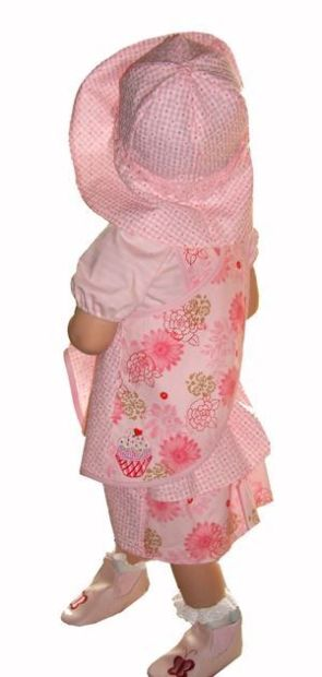 CHRISTINA Dress E-Pattern Woman Girl Doll