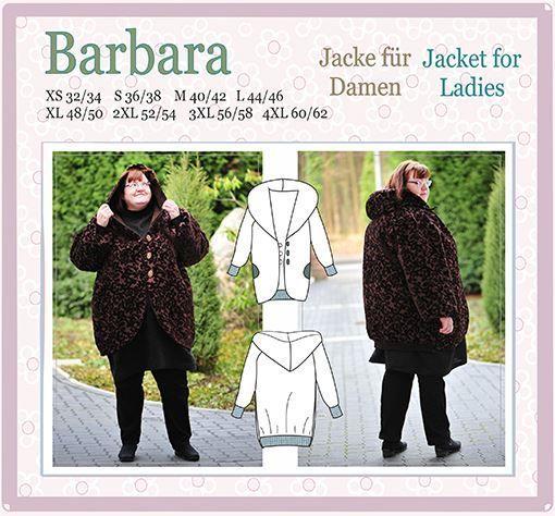 Barbara E-Pattern Jacket Reversible Woman
