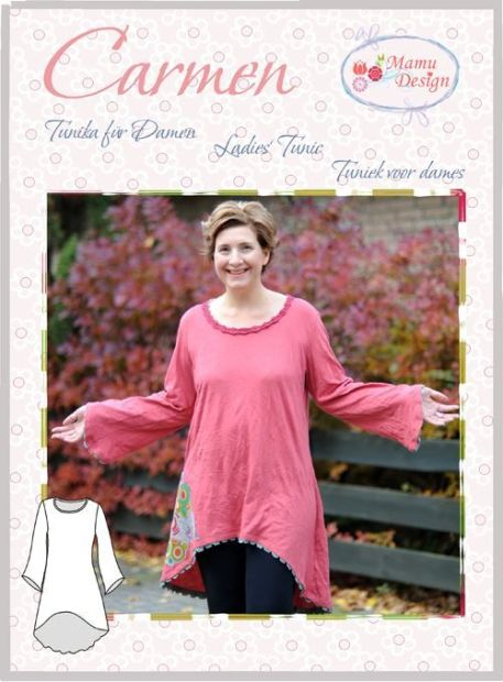 CARMEN E-Book Schnitt Tunika Kleid Damen