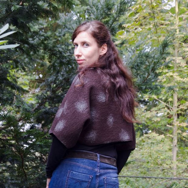 E-pattern Bolero Jacket Ladies