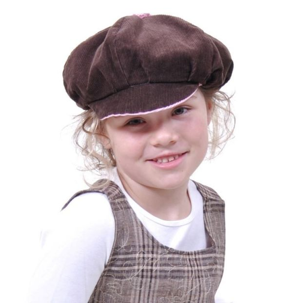 E-Pattern LEO Reversible Balloon Cap Ladies Girls Boys Dolls