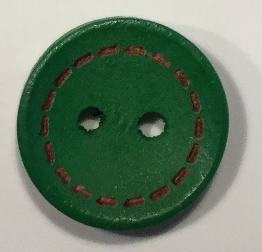 wooden button small