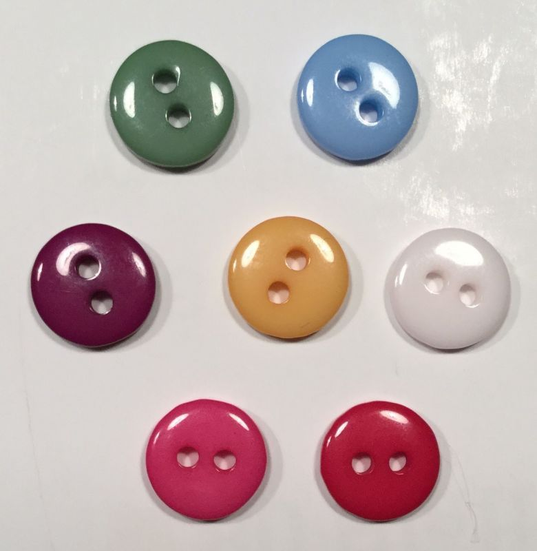 synthetic button colorful