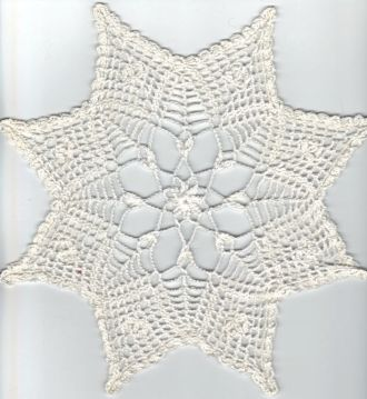 kleiner weißer Stern