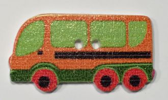wooden button coach