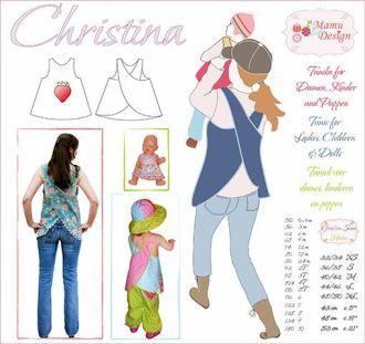 CHRISTINA E-Book Schnittmuster Schürzenkleid