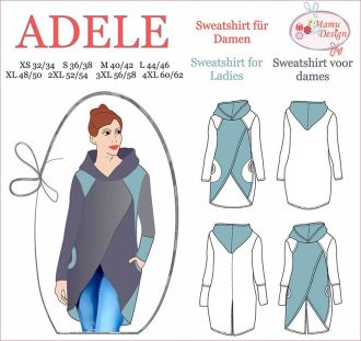 E-Book ADELE Langarmshirt Damen