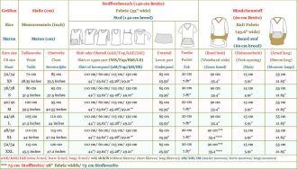 E Pattern and Sewing Instructions DEBORAH Sweatshirt, Sweat-Dress for Women