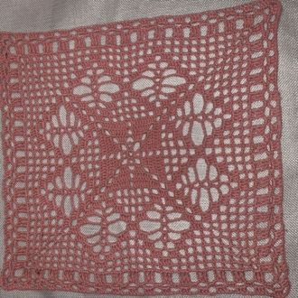 Crochet doily square