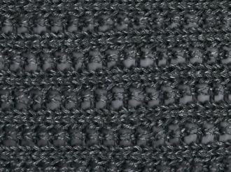 Scarf - Ajour metallic