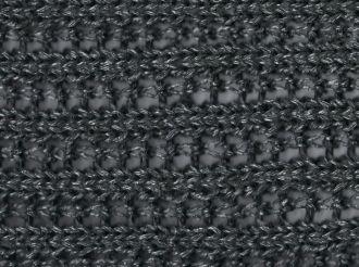 Schal - Ajour metallic