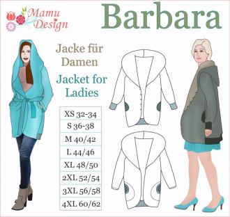 Barbara E-Pattern Jacket Reversible Woman